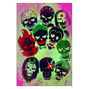 Suicide Squad. Размер: 40 х 60 см
